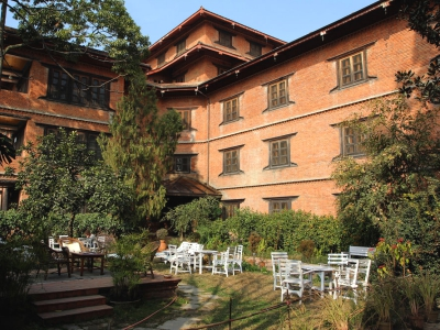 Accommodation retreat center Nepal
